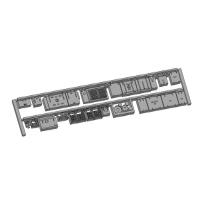 Nゲージ鉄道模型用 床下機器(私鉄1M電車)