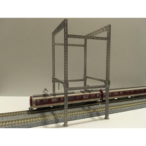Nゲージ 門型架線柱 2体
