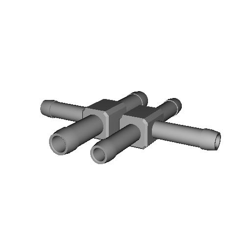 T字分岐ジョイント 5-5-5mm 6-5-6mm セット