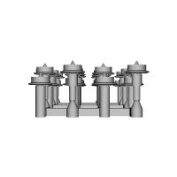 鉄道模型1/87 9mm用 3.4mm車輪-A