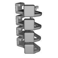 三角リング用カバー S(ベルト幅10mm)4個セット