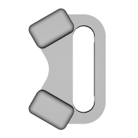 三角リング用カバー S(ベルト幅10mm)