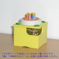 オルゴールボックス・蓋 ~Birthday Cake 6 Candles~