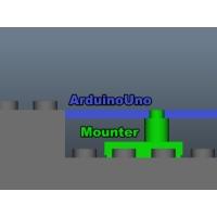 Arduino Uno用 レゴマウンタ