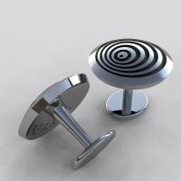 渦巻き カフスボタン