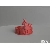 右側の狐さんリング(22号)
