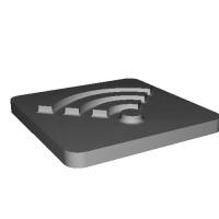 Stamp Wi-Fi Icon v15.stl