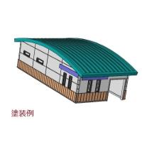 (150分の1)名鉄 無人駅タイプ 駅舎A