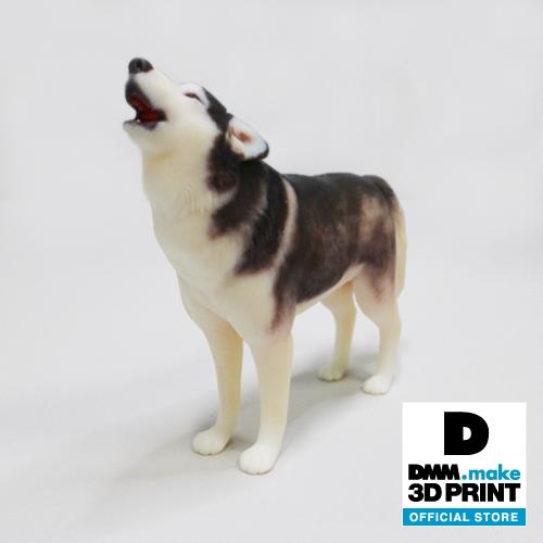 犬フィギュア(シベリアンハスキー)