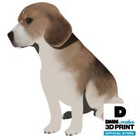 犬フィギュア(ビーグル)