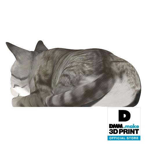 猫フィギュア(キジトラ)