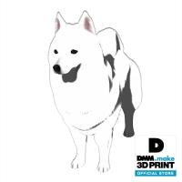 犬フィギュア(サモエド)