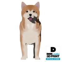 犬フィギュア(秋田犬)