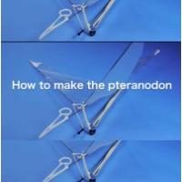 羽ばたき飛行機 プテラノドン型 3Dプリントパーツ3機分