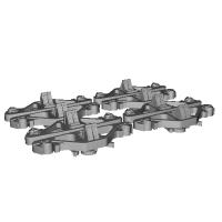 鉄道模型 HOゲージ TR209台車(TOMIX用) 2両分