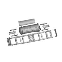 コンテナ貨車 粉セメント用