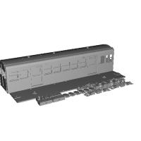 鉄道模型 HOナロー 三岐鉄道北勢線 サ140形式 車体一体キット