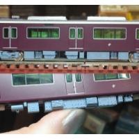 Nゲージ鉄道模型:阪急新1000系風床下機器