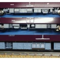 Nゲージ鉄道模型:阪急新1300系風床下機器