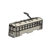 (Nゲージ)京都市電 600形タイプ 一体型