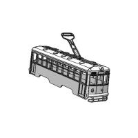 (Nゲージ)京都市電 600形タイプ 組立てキット
