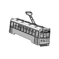 (Nゲージ)京都市電 1600形タイプ 組立てキット