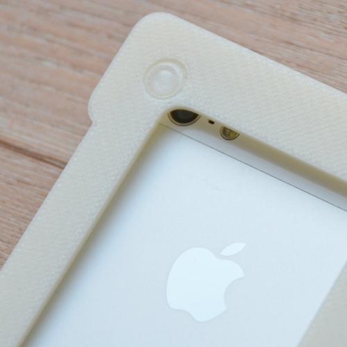 スマホ顕微鏡「Leye」レンズ位置合わせ用iPhoneケース