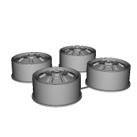 GC110 WHEEL CAP_x4.STL