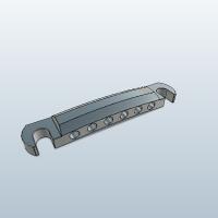 レスポールタイプギター用テイルピース(チタン約50g)