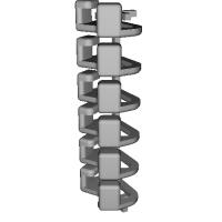 三角リング用カバー SS(ベルト幅8mm) 6個セット