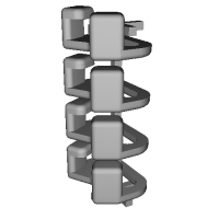 三角リング用カバー SS(ベルト幅8mm) 4個セット