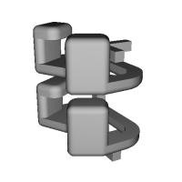 三角リング用カバー SS(ベルト幅8mm) 2個セット