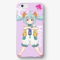 【浦和の調ちゃん】三室美園 私服バージョン iPhoneケース