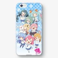 【浦和の調ちゃん】SDイラスト集合バージョン iPhoneケース
