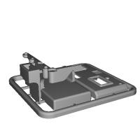 ATOMIC AMZ-BZ用mini-z03BL基盤ケース
