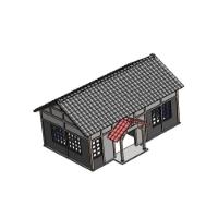 (150分の1)小型駅舎タイプ (一体型、屋根分離可能)