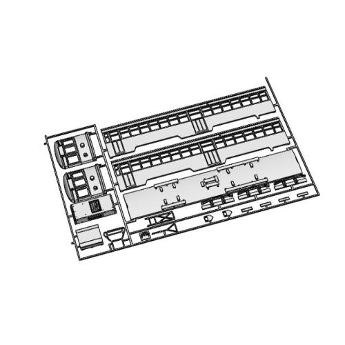 (Nゲージ)広島電鉄 570形タイプ 組立てキット