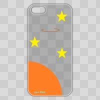iPhone5/5Sケース 宇宙