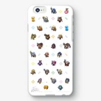 【かんぱに☆ガールズ】 ドット絵バージョン iPhoneケース