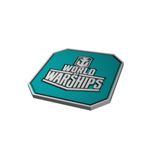 【Wargaming Japan】Branded Coaster #2