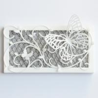 虫よけ用装飾ケース+蝶