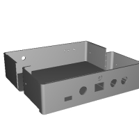 ハイレゾDAC基板 DAI-1200 ケース