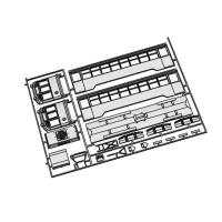 (Nゲージ)ウソ電 <京都市電1600形 広電化タイプ> 組立てキット