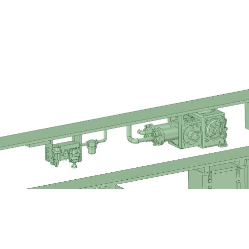 NS15-01:1500系床下機器(1編成分)【武蔵模型工房 Nゲージ 鉄道模型】