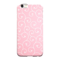 iPhone 7 Plus Case - Karakusa Plane (Pink)