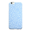 iPhone 7 Plus Case - Karakusa Plane (Sky Blue)