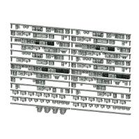 Nゲージ鉄道模型用 床下機器(私鉄2+3両、5両)