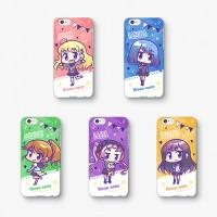 【シンソウノイズ】 SDヒロイン5点セット iPhoneケース