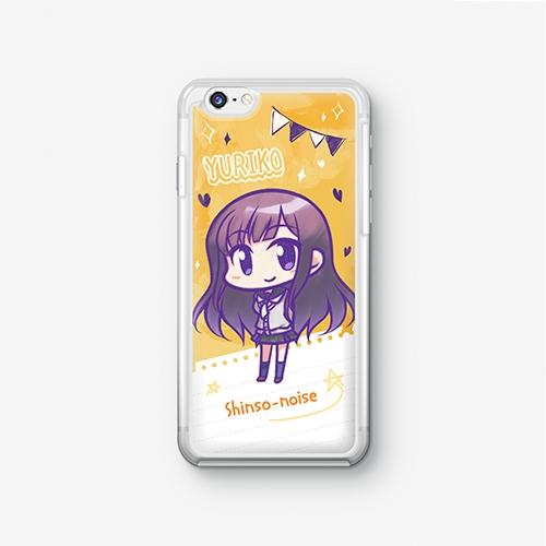 【シンソウノイズ】 大鳥百合子 SDバージョン iPhoneケース