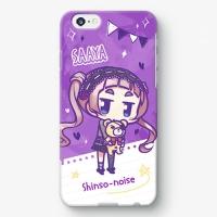 【シンソウノイズ】 黒月沙彩 SDバージョン iPhoneケース